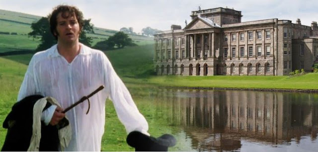 Mr Darcy no lago