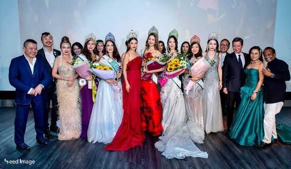 Phương Khánh khiến fan quốc đảo sư tử ngây ngất khi làm giám khảo Miss Earth Singapore 2019