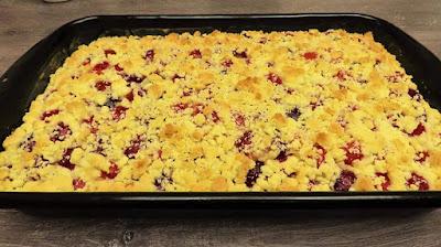 Neodoljivi Kolač s Trešnjama   Simple Cherry Cake Recipe