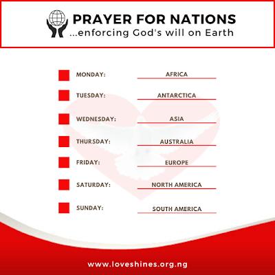 Prayer for nations