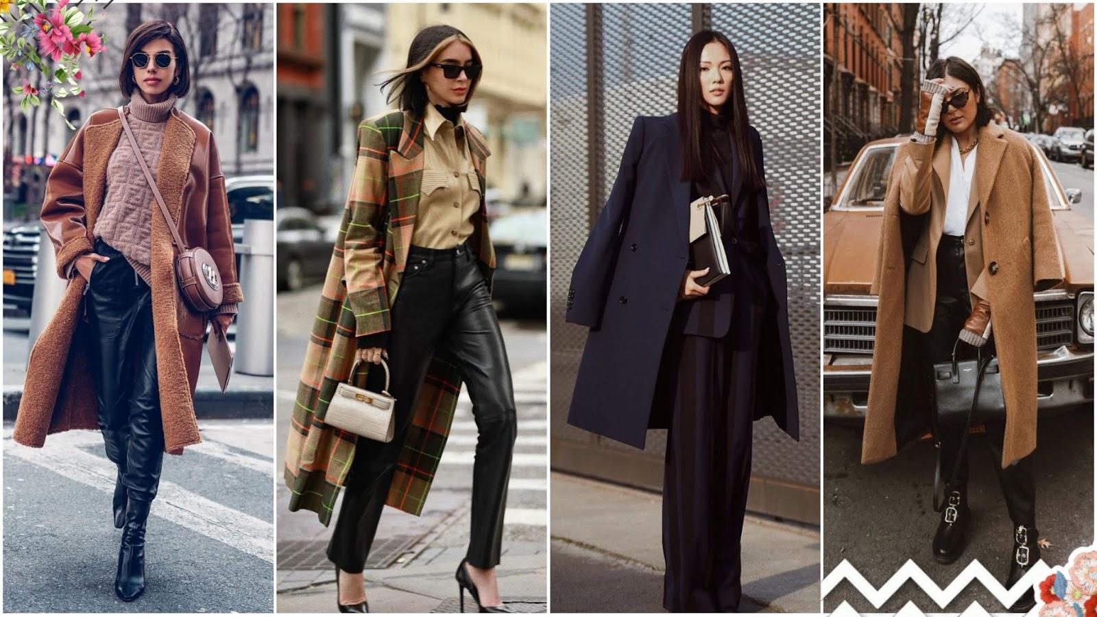 gabardina tendencia moda 2020