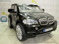 Mobil Mainan Aki Junior JB15 BMW X5 SUV 2 Kursi Lisensi Black