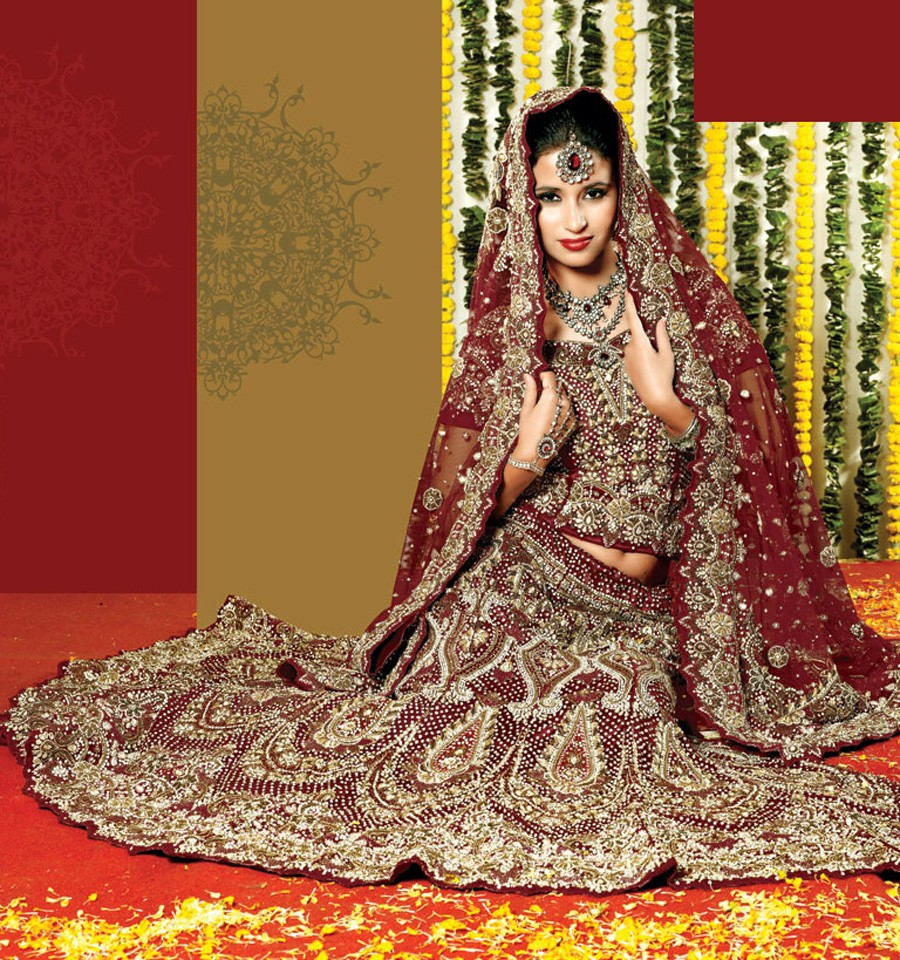 Charming Wedding Lenghas For Fashion Savvy Brides