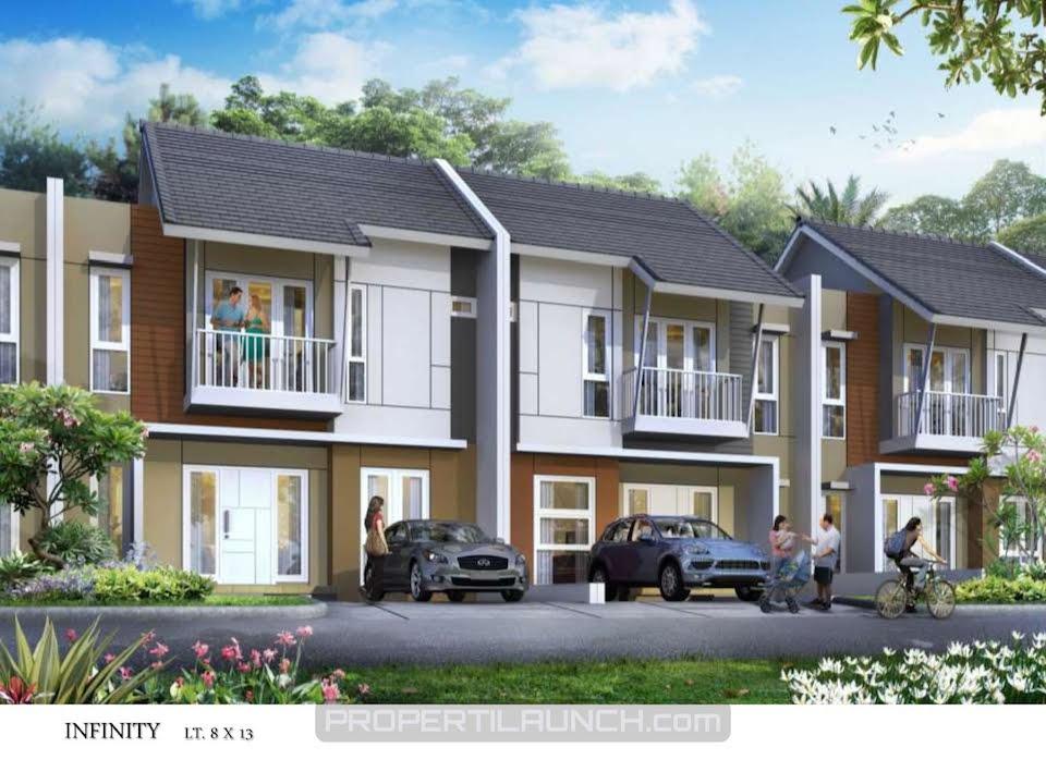 Infinity Type Cluster Avani Homes Summarecon Karawang