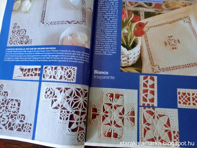 журнал RAKAM, книги и журналы по вышивке, иностранные журналы по вышивке