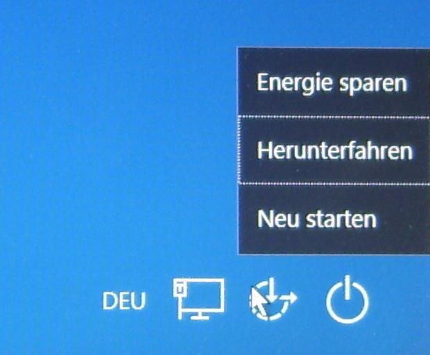 PcEinsteiger: Windows 10 ausschalten