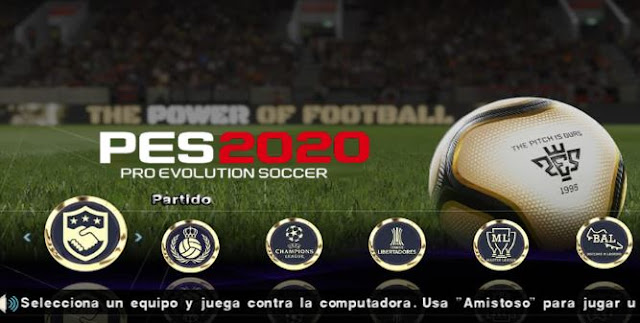 PES 2020 ISO File PPSSPP For Android Latest Download Link