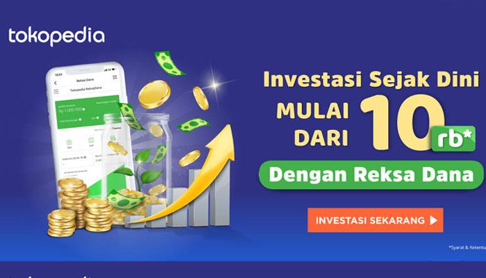 Aplikasi Investasi di Tokopedia