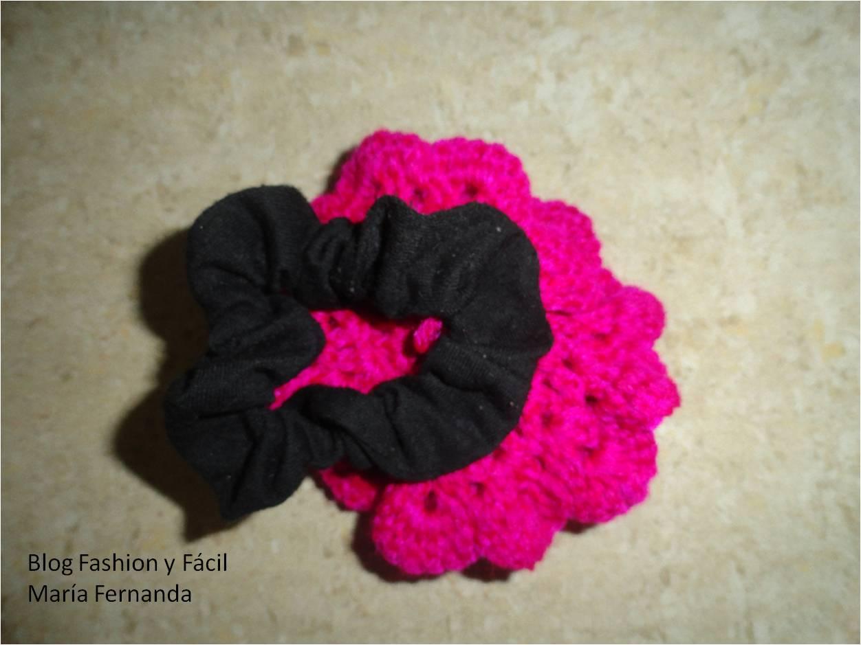 Fashion y Fcil  Cmo hacer una moera Rosa tejida en espiral aplicada a una moera How to