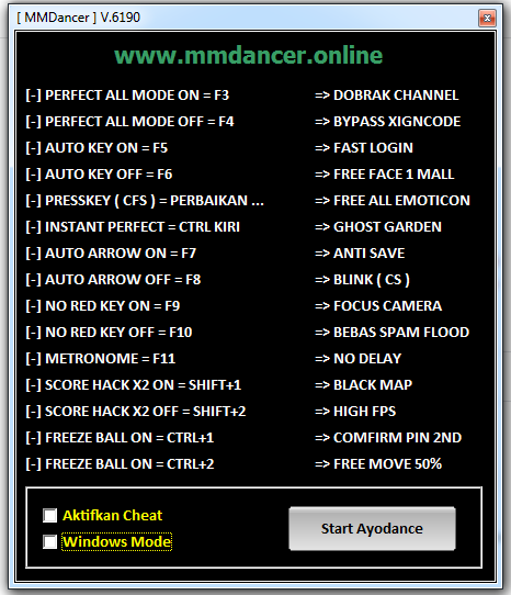 Release Cheat Ayodance 6190 Simple Hack | 2143 For Free