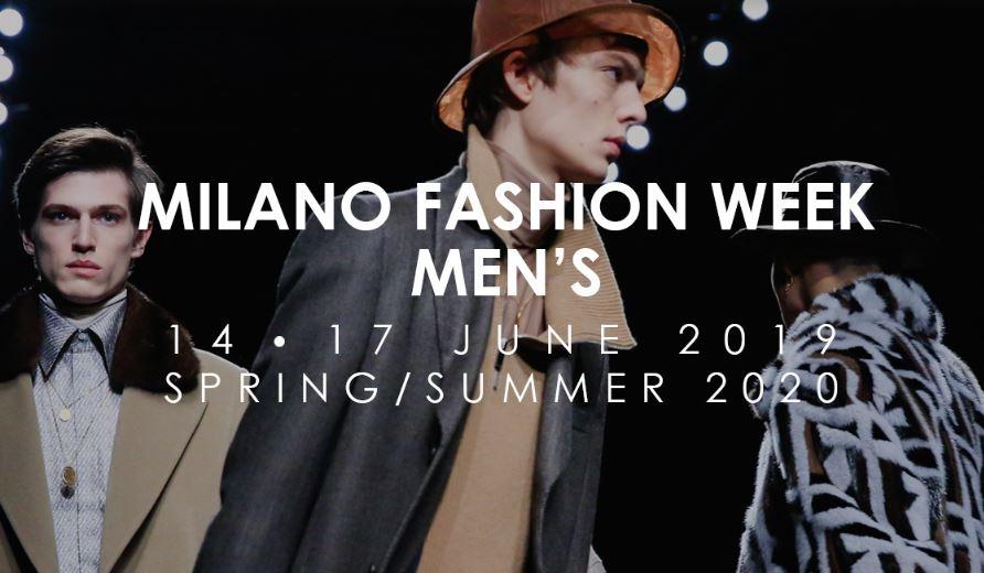 Calendario Moda Milano 2020.New Camera Della Moda Milano Moda Uomo Dal 14 Al 17