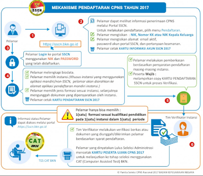mekanisme cpns 2017