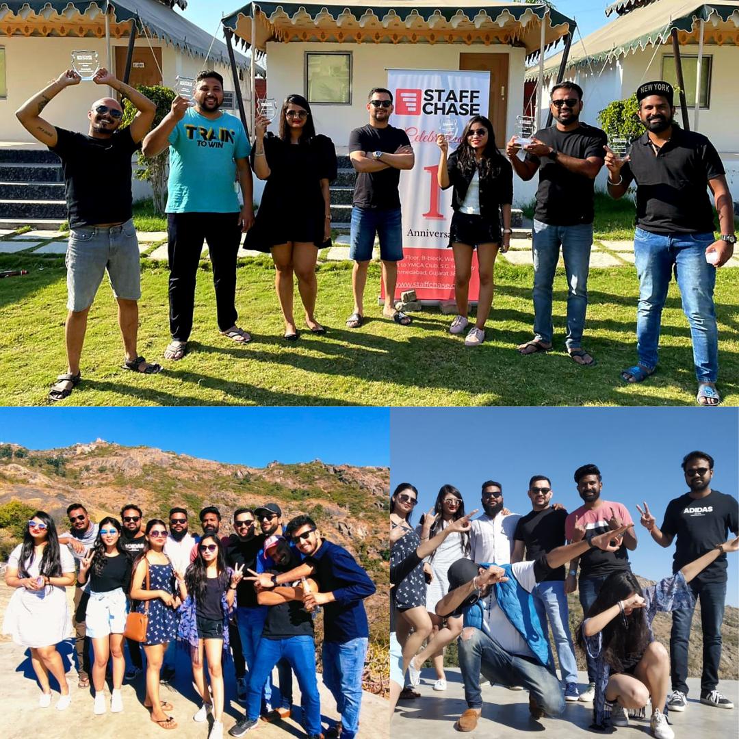 Team Vacation on 1st Year anniversary Celebration