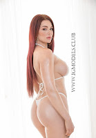 Skyla Novea white bikini striptease picture gallery