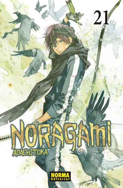 Review del manga Noragami Vol.21 de Adachitoka - Norma Editorial