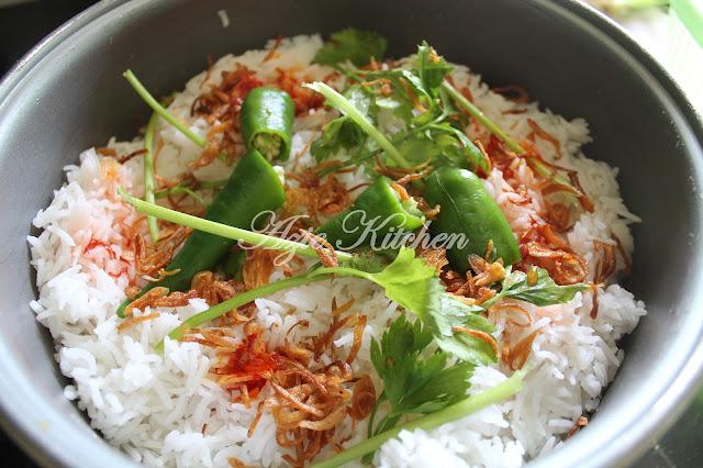 Nasi Beriyani Pakistan Azie Kitchen