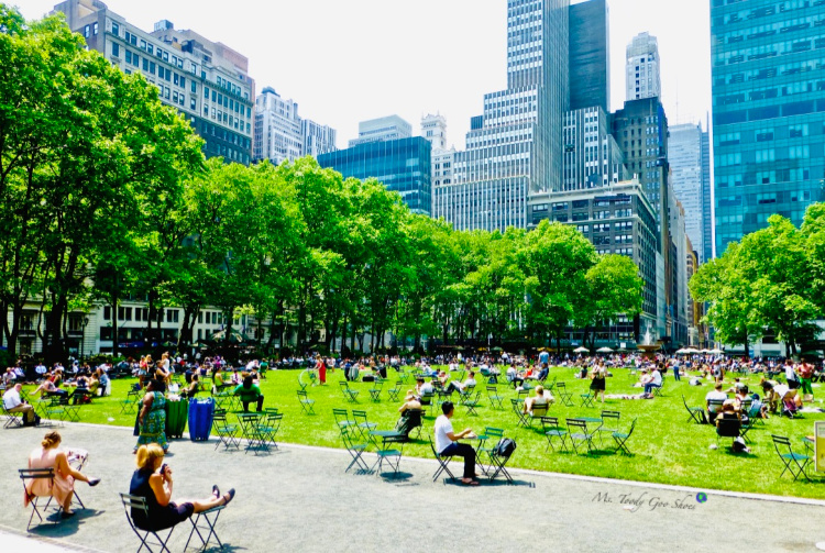 Bryant Park, New York City  | Ms. Toody Goo Shoes