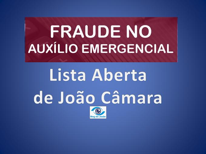 Confira a lista com o nome dos empresários, políticos, funcionários públicos de João Câmara que receberam Auxílio Emergencial