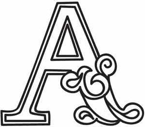 Moldes De Letras Do Alfabeto Lindos Para Imprimir Alfabetos Lindos