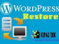 Cara Restore Wordpress di cPanel Secara Manual Terlengkap + Gambar