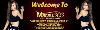 IDN SPORTSBOOK MACAU303 Situs Agen Judi Bola Online