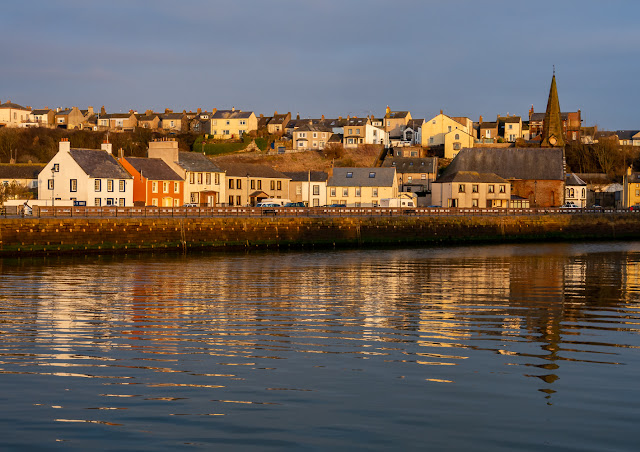 Photo of Maryport reflections from across the basin