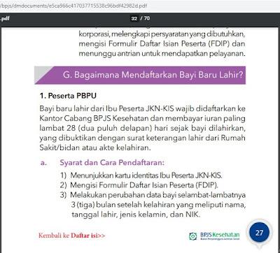 leaflet BPJS Kesehatan