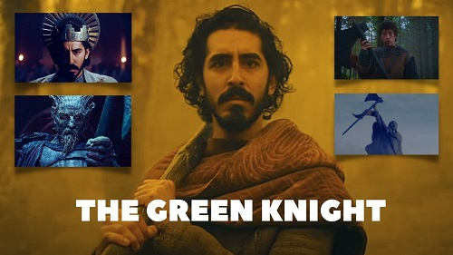 Dev Patel The Green Knight Trailer
