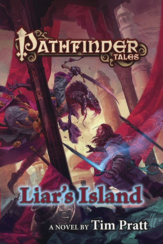 Review: Pathfinder Tales: Liar's Island by Tim Pratt