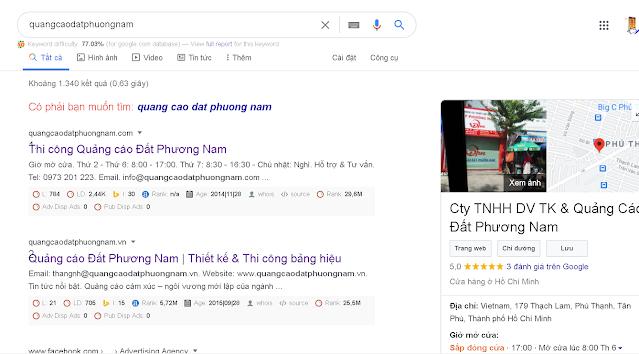 Thiết kế web chuẩn SEO - www.quangcaodatphuongnam.com