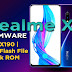 Realme X Firmware | RMX190 | Ofp Flash File | Stock ROM | Download