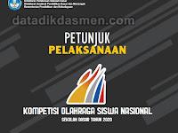 Juklak Kompetisi Olahraga Siswa Nasional (KOSN) Jenjang SD Tahun 2020