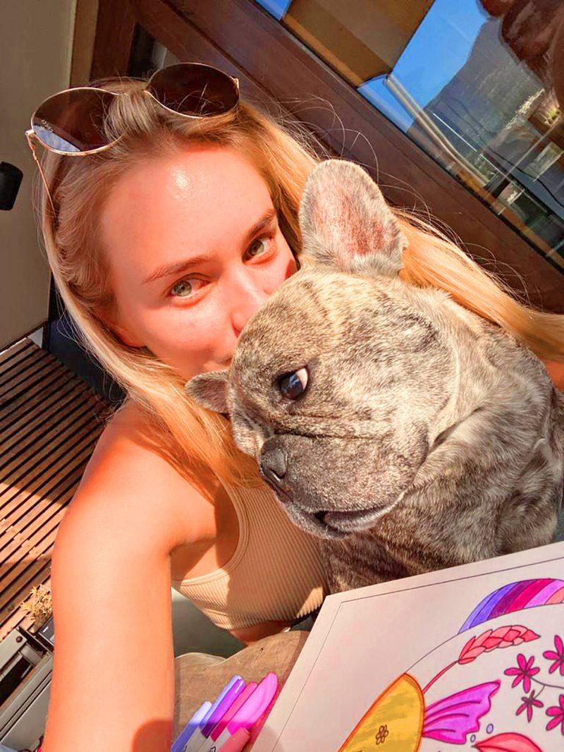 La gran jugada de Kika Silva para salvar a su perro Gin