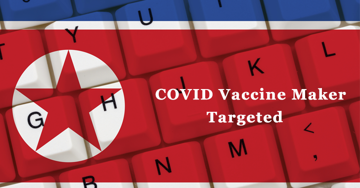 COVID Vaccine Maker targeted