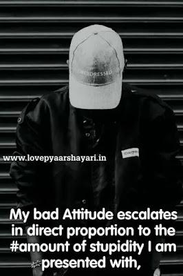 Attitude status for fb profile pic