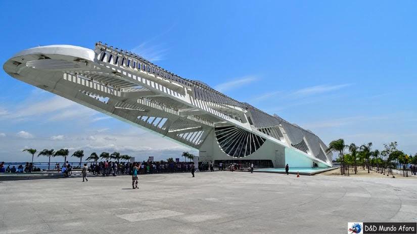 Diário de Bordo - Rio de Janeiro e Cabo Frio - Museu do Amanhã