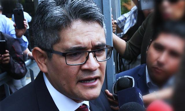 El fiscal José Domingo Pérez
