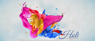 Happy Holi Facebook Timeline Wallpapers Download