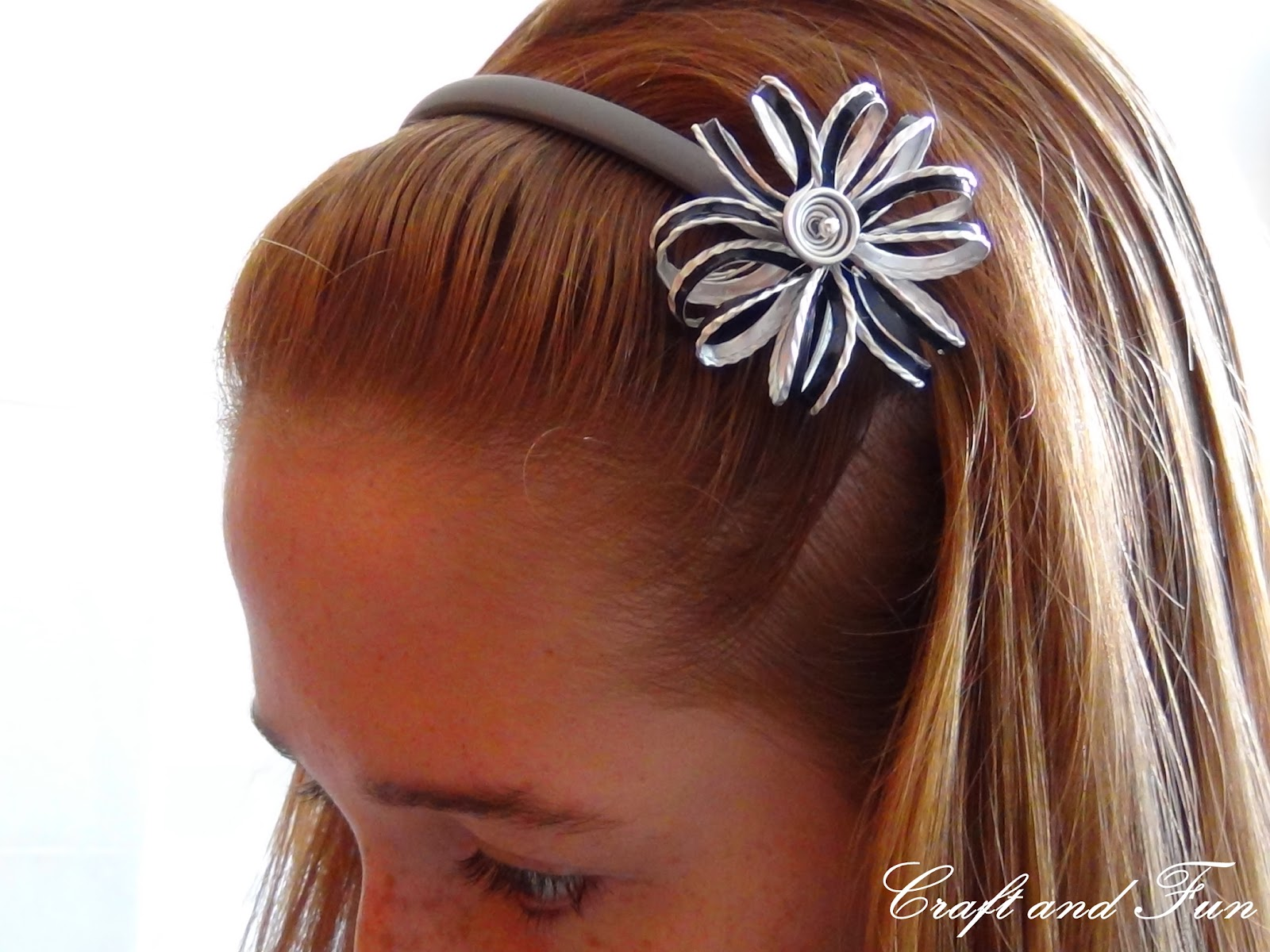 Riciclo creativo craft and fun accessori per capelli for Fai da te creativo