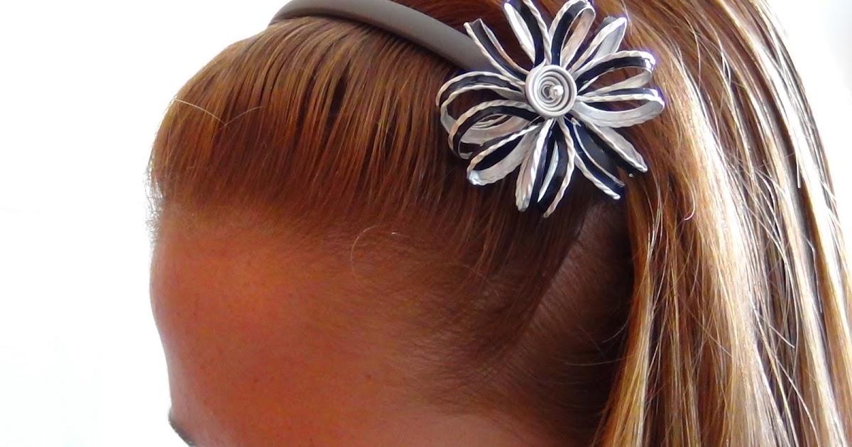 nuovo massimo raccogliere prodotto caldo Riciclo Creativo - Craft and Fun: Accessori per capelli Fai da Te ...
