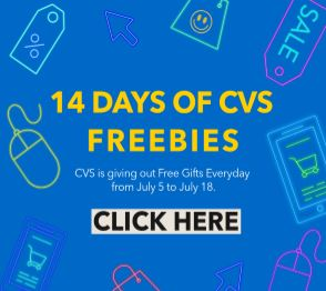 CVS Extracare Extra Thanks Freebie Event
