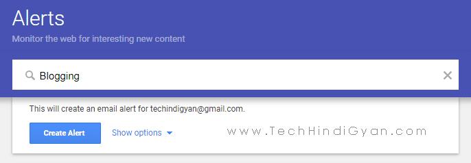 Google Alert Setup Kaise Kare
