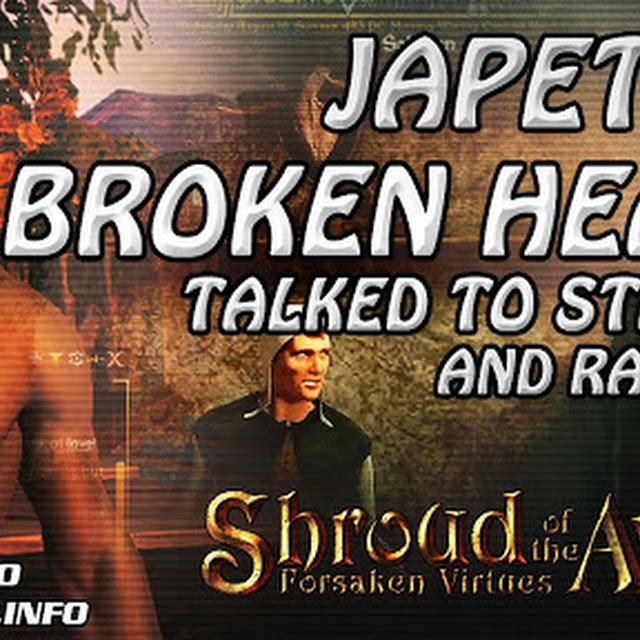 Japeth's Broken Heart, Talked To Stanley & Raymond In Soltown ★ Shroud of the Avatar Gameplay