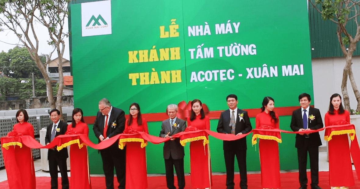 Khánh thành nhà máy bê tông Xuân Mai Corp