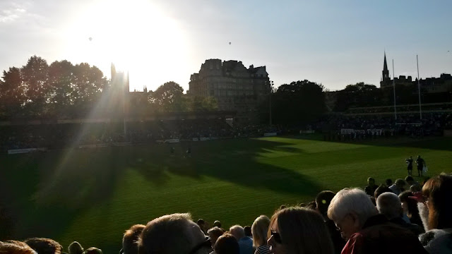 Bath rugby pitch