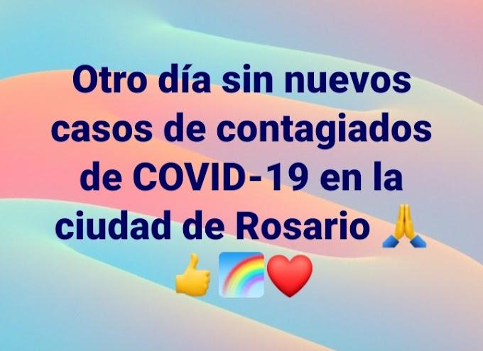 Otro día sin casos de contagiados de Coronavirus en Rosario