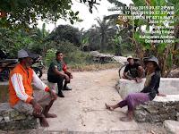 Serka Ponirun jalin Silaturahmi Dengan Warga Desa Sipaku