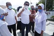 Program Gemas 2 : Puluhan Ribu Siswa Aceh Timur Pakai Masker Serentak