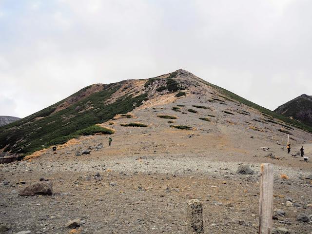 乗鞍岳登山道