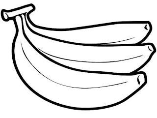 Dengan menggambar tentunya kekreatifitasan anak 15+ Sketsa Gambar Pisang